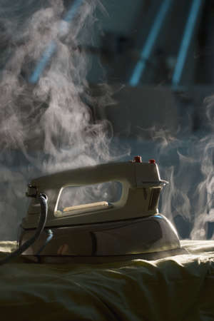 alarmed: Steaming iron