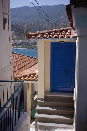 Architectural exteriors,Paros Island,Saronic Islands,Greece photo