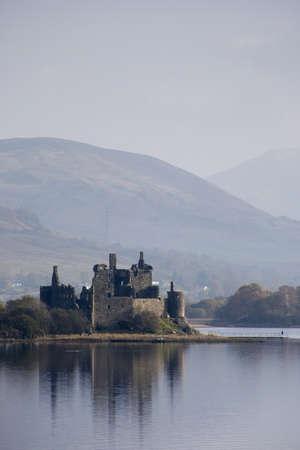 historical periods: Kilchurn Castle,Scotland