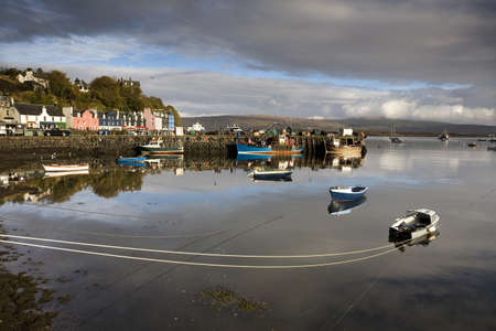 mull: Fishing port,Tobermory,Isle of Mull,Scotland Stock Photo