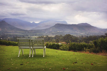 glubish: Park bench with a view