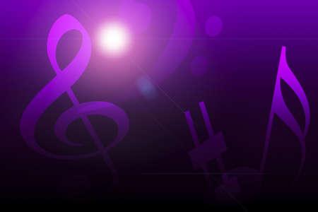 Composite of music Banco de Imagens