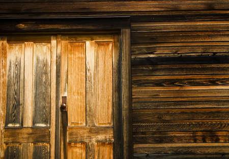 fullframes: Close up of wooden door