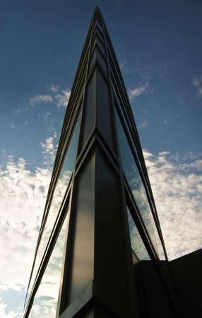 Pointed peak on an architectural structure Stock Photo - 8241900