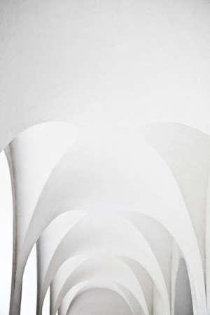 archways: White archways