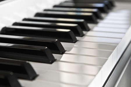 Piano keyboard Standard-Bild