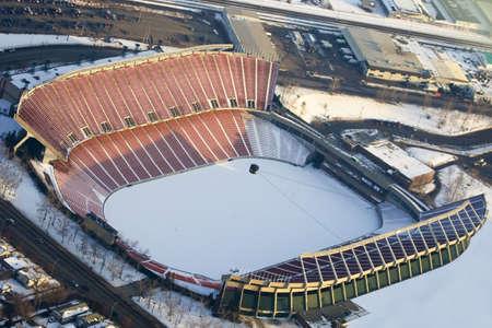 arial views: Commonwealth Stadium,Edmonton,Alberta,Canada
