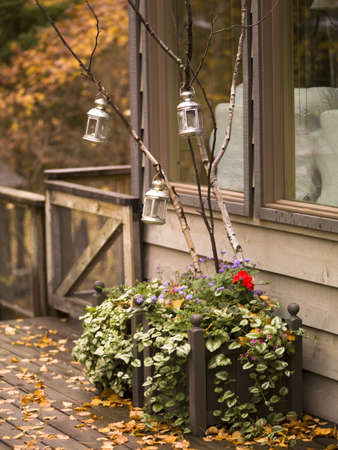 Exter of a house in fall Stock Photo - 8242784