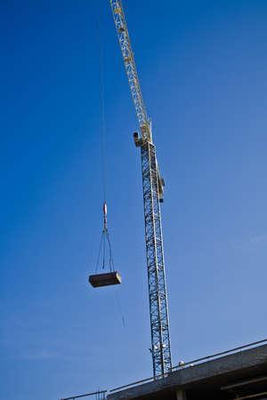 tanasiuk: Crane working on a construction site