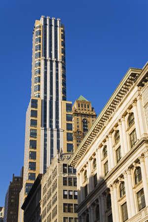cummins: Skyscrapers on 5th Avenue,  Midtown Manhattan, New York City, New York, USA   Stock Photo