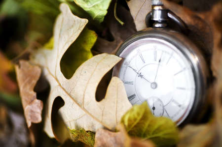 timepieces: Time passing Stock Photo