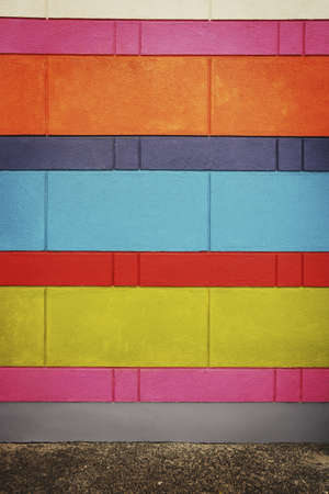 glubish: Colorful wall Stock Photo