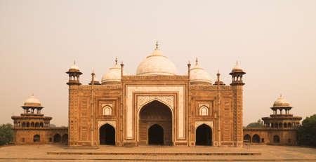 panoramics: Taj Mahal, Agra India   Stock Photo
