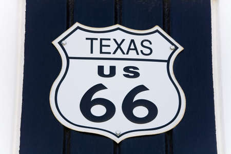 Route 66 Museum, Victorville, California, USA에 로그인하십시오. 스톡 콘텐츠