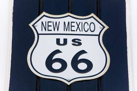 Sign, Route 66, Victorville, California, USA
