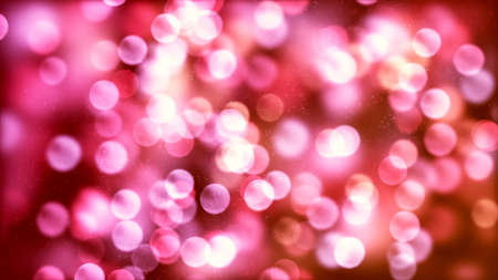 Background with nice red bokeh Archivio Fotografico