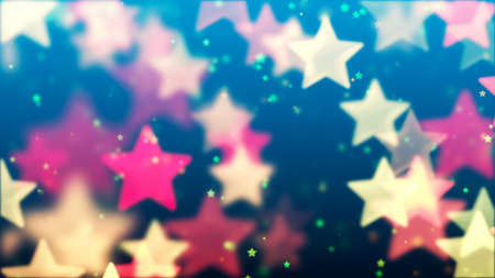 Flying Stars, Abstract Background