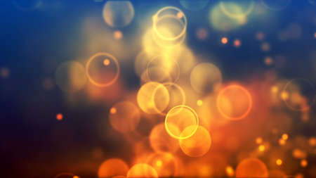 Background with nice orange bokeh
