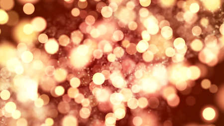 Background with nice golden bokeh