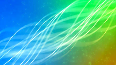 Background with nice abstract glowing lines