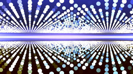 Background with nice abstract glowing leds Imagens - 100425056