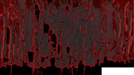 Streams of splashing organic blood Imagens
