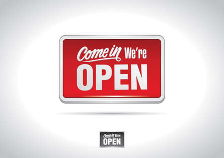 Open Sign Icon Stock Vector - 6345329