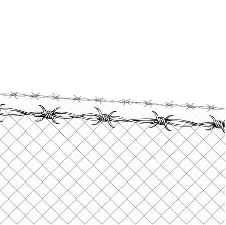 prisoner of war: Barbed Wire Fence