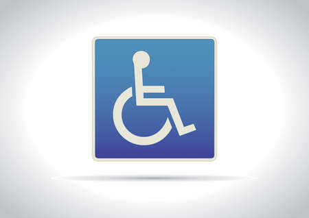 Disabled Traffic Sign Icon
