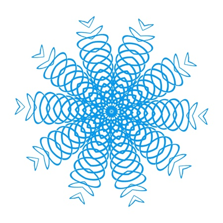 Blue Spring Design Imagens