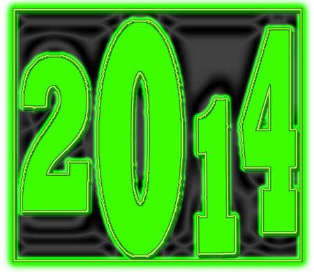 2014 Green on Black