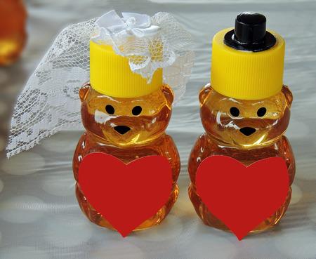 Honey Bear Bride and Groom Favors
