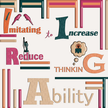 thinking power learning quotes and background