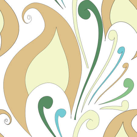 Arabic birdy shaped seamless surface pattern design Stock fotó