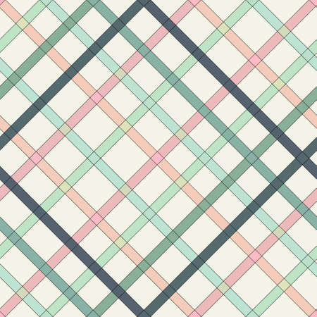 colorful cross grid striped pattern design