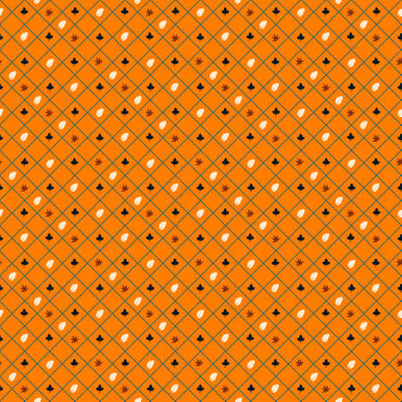 check pattern and flower shaped and grid Stock fotó