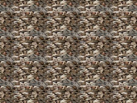 Stone wall textured seamless pattern design