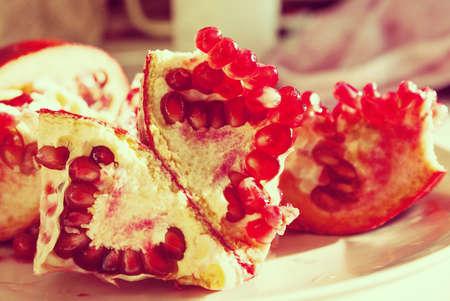 garnets: pomegranate heart