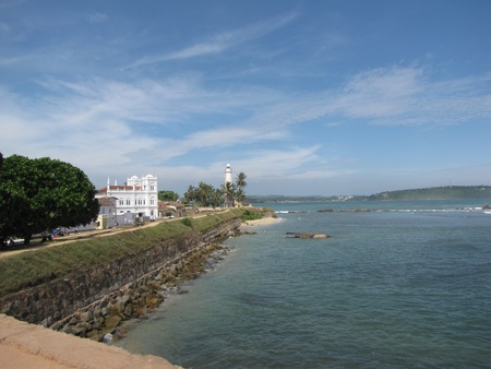 galle: Galle Fort Stock Photo