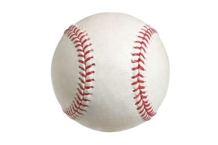 beisbol: Una de las principales ligas de b�isbol aislado en un fondo blanco
