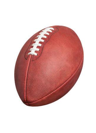 A professional style football isolated on a white background Zdjęcie Seryjne