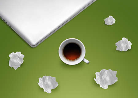 Creative Thinking With Brainstorming. Stock Photo - 10892011