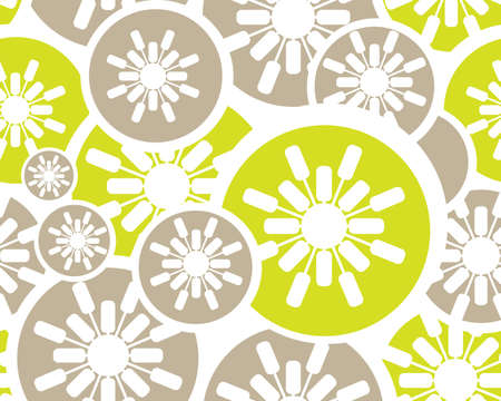 japanese pattern illustration: colored and modern Retro floral seamless background.