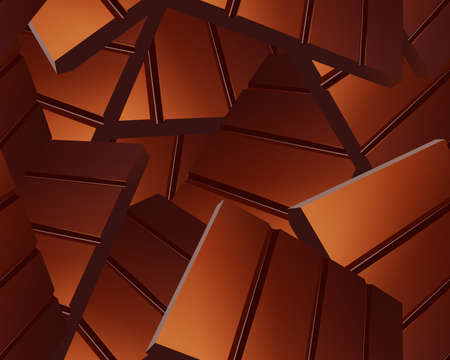 sparse: Delicious Sparse chocolate bars background