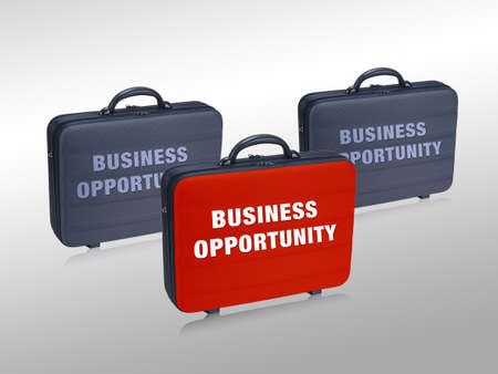 Business  case write on it  Business Opprtunity photo