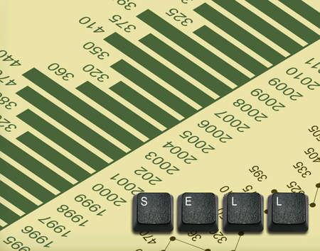 imaginary dialogue: Palabra venden Hecho de teclas del teclado de ordenador, los botones del teclado con las ideas.