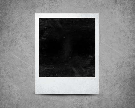 instant photo with black area with room to add image . photo