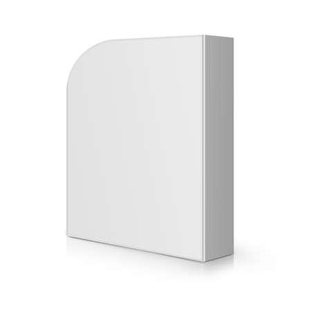 ic�ne logiciel: Moderne Box Software vierge.