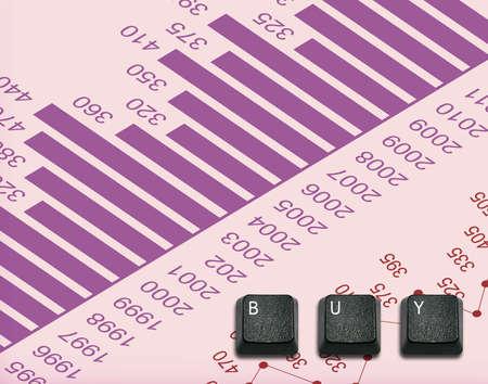 imaginary dialogue: Palabra de Compra Hecho de teclas del teclado de ordenador, los botones del teclado con las ideas. Foto de archivo