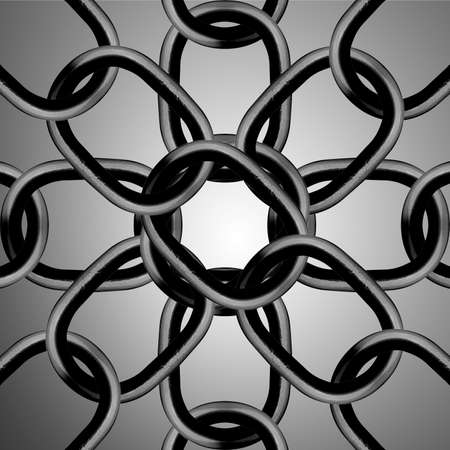 durable: Metal chain parts background.